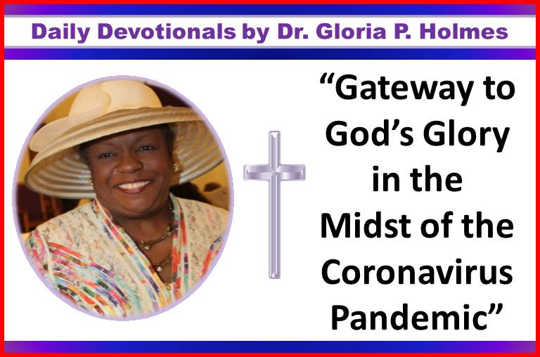 Daily Devotionals by Dr. Gloria P. Holmes